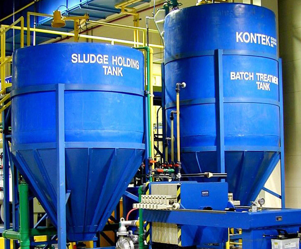 Sludge Towers Conventional Wastewater Treatment