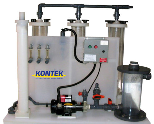 Industrial Wastewater Ion Exchange System KC-20