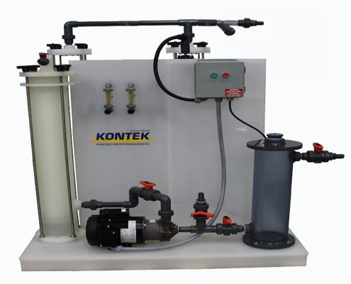 Industrial Wastewater Ion Exchange System